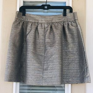 🆕Banana republic silver skirt